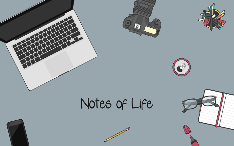 Notes of Life Header