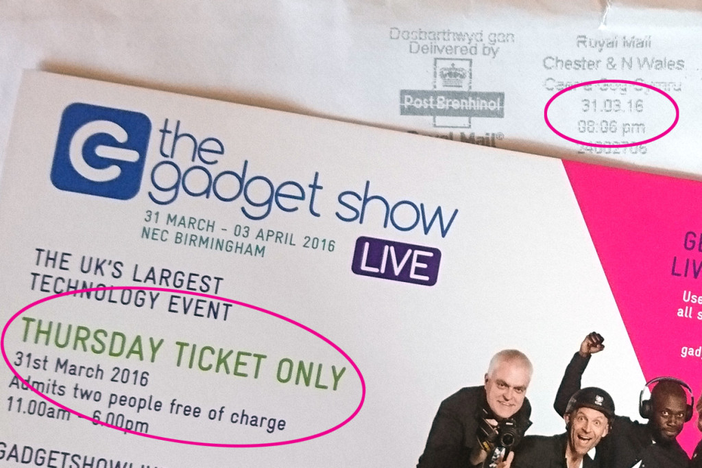 The Gadget Show Live Tickets