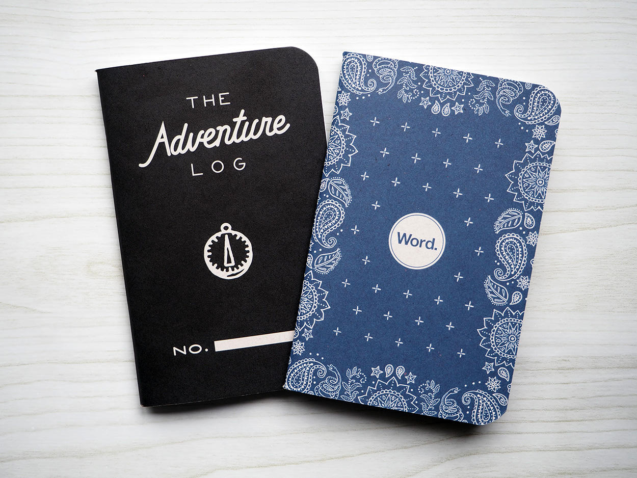 Word Notebooks from Pocket Notebooks