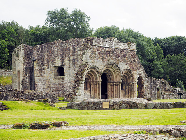 Haughmond Abbey - Chapter House