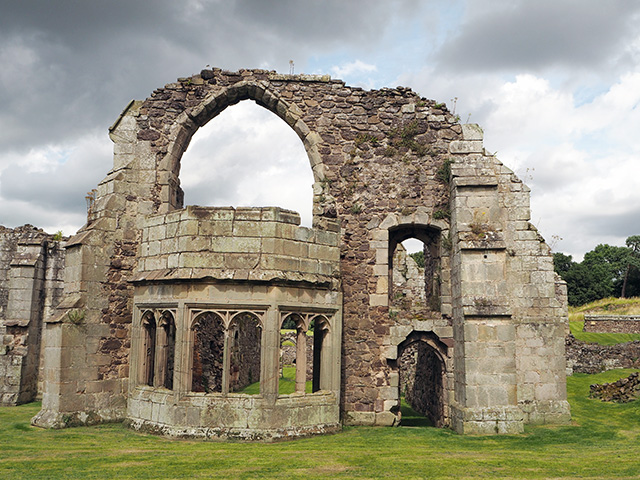 Haughmond Abbey - Abbot's Private Rooms
