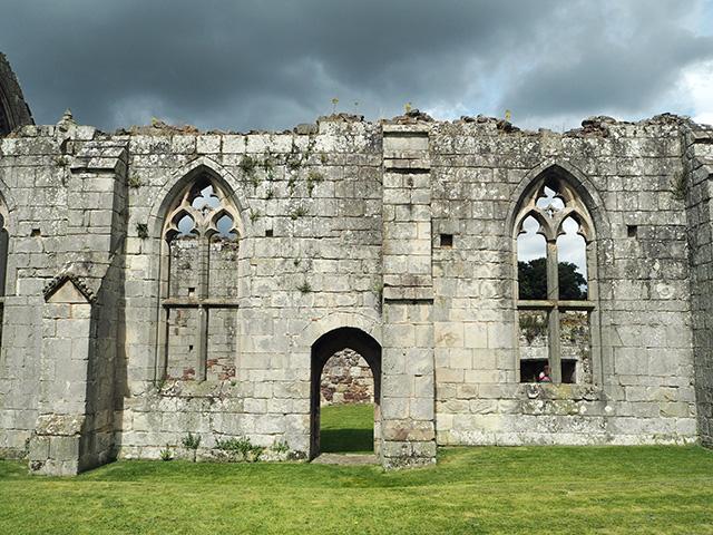 Haughmond Abbey - Abbot's Hall