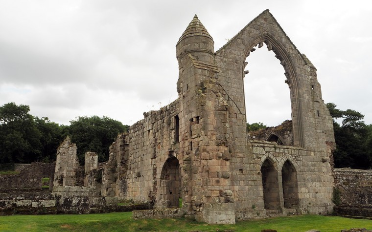 Haughmond Abbey - Abbot's Hall