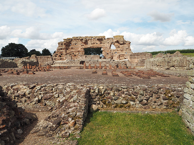Wroxeter Roman City - The Old Work and The Bathhouse