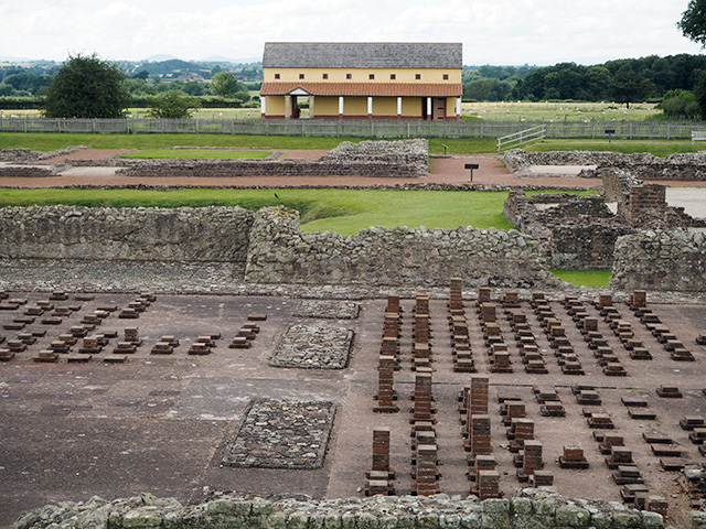 Wroxeter Roman City - Excavated City and Re-created Town House