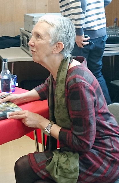 Ann Cleeves in Oswestry