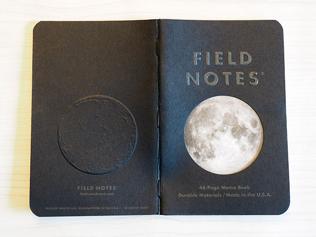 "Field Notes ""Lunacy"" Cover"