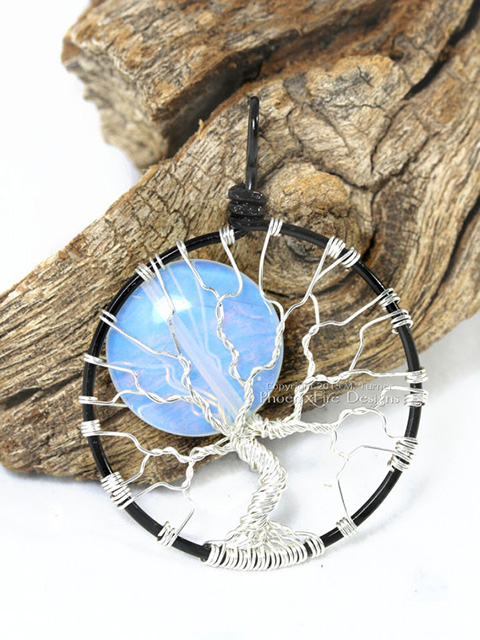 Full Moon Pendant by PhoenixFire Designs