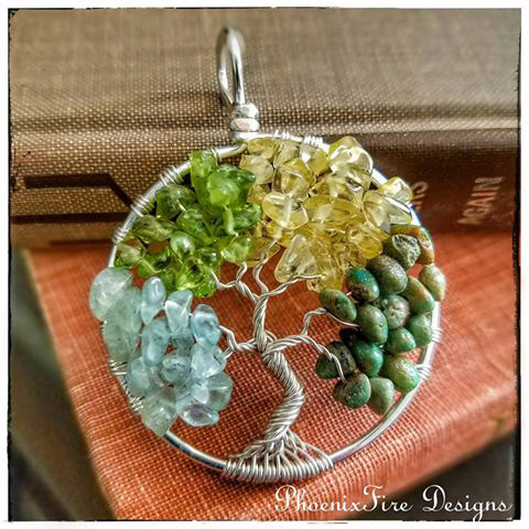 PhoenixFire Designs - Tree of Life Pendant