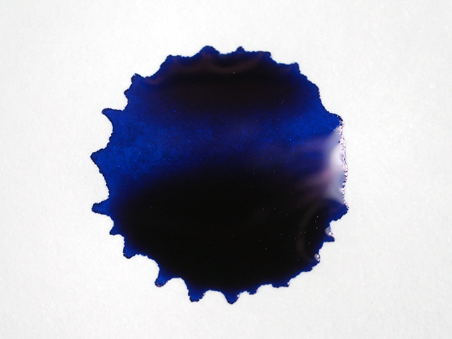 Blue Flame Ink Splat
