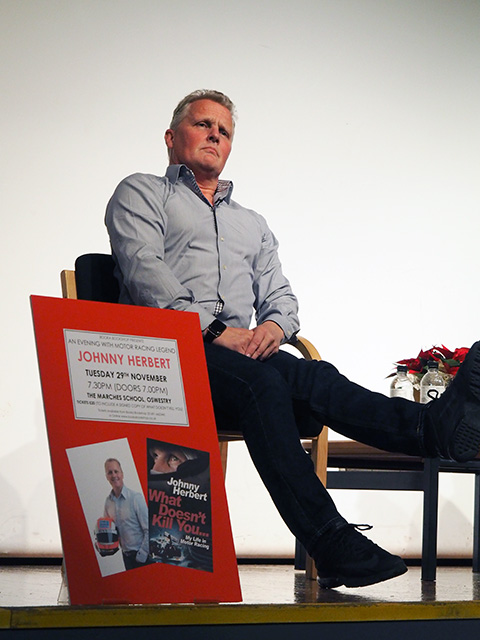 An Evening with Johnny Herbert