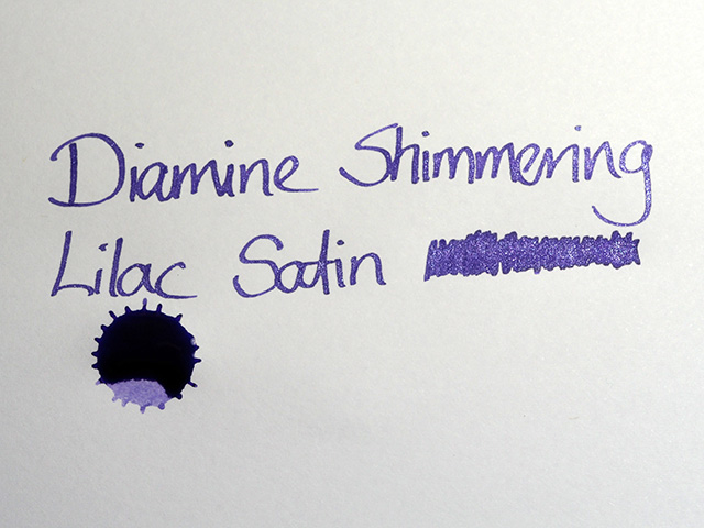 Diamine Shimmering Lilac Satin