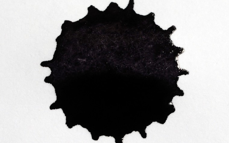 Diamine Shimmering Ink - Moon Dust Ink Spat