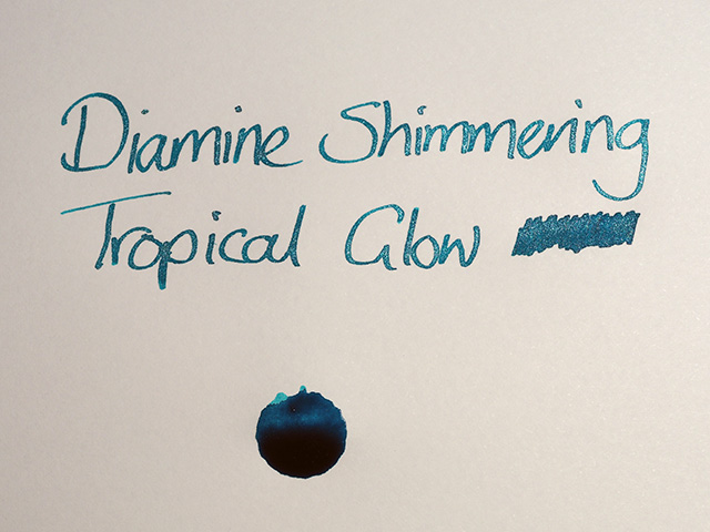 Diamine Shimmering Tropical Glow