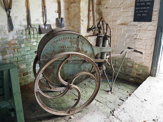 Berrington Hall - Machinery