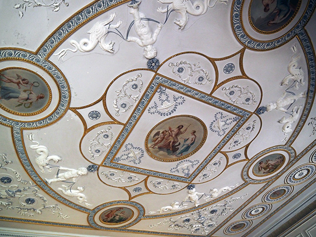 Berrington Hall - Ceiling