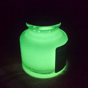 Glow-in-the-dark ink