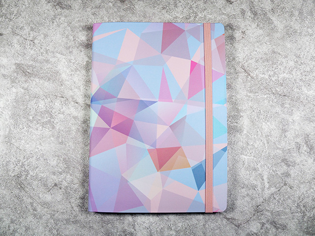Crystal A5 Notebook by Say Nice Things