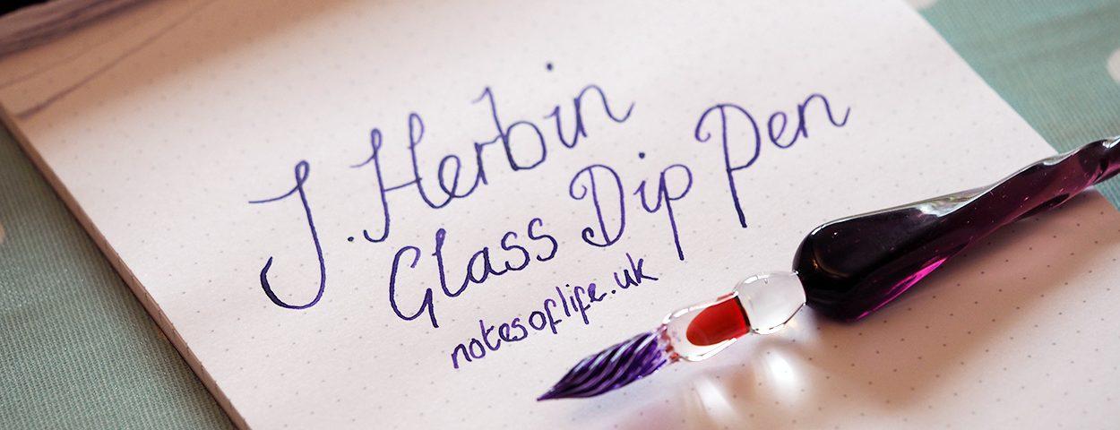 Spiral Glass Dip Pens