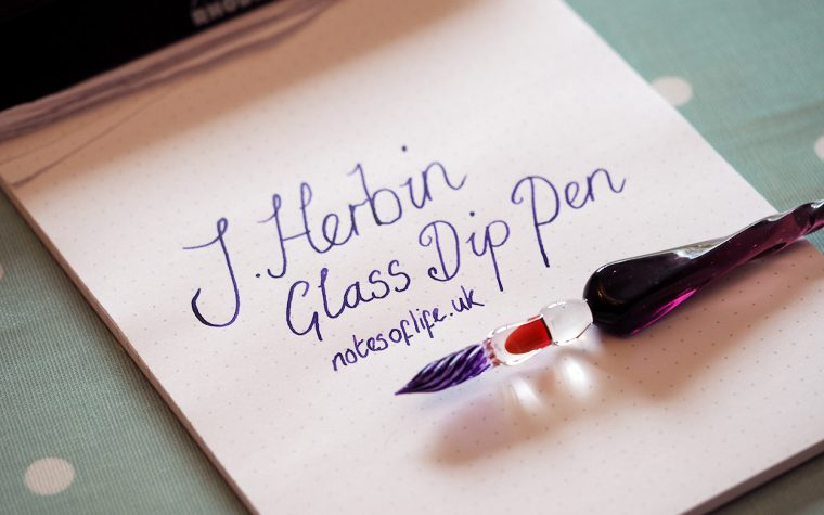 J Herbin Spiral Glass Pen