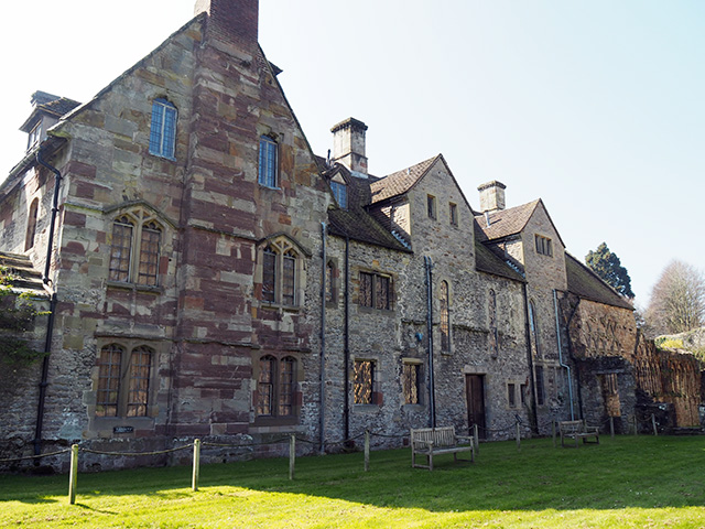 The infirmary and prior's lodging.
