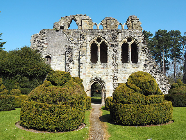 Wenlock Priory ruins