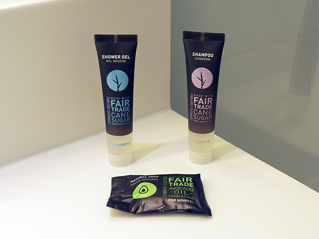 Complimentary Shower Gel and Shampoo