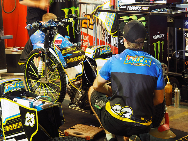Chris Holder's Speedway Bike