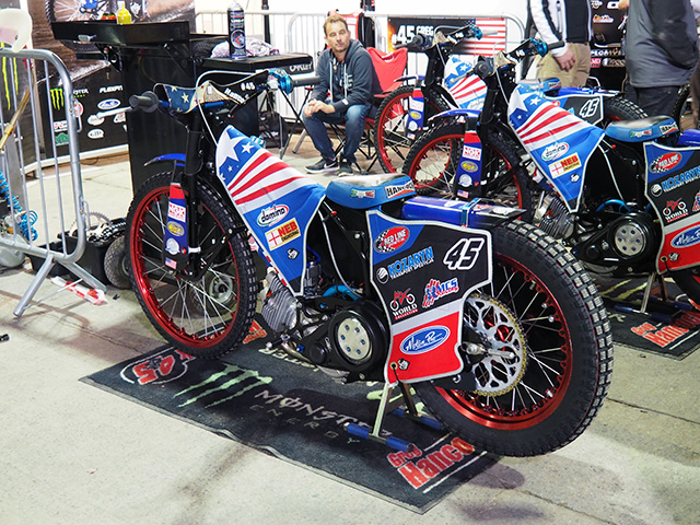 Greg Hancock's Speedway Bike