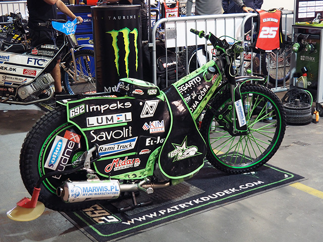 Patryk Dudek's Speedway Bike