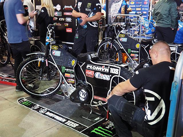 Tai Woffinden's Speedway Bike