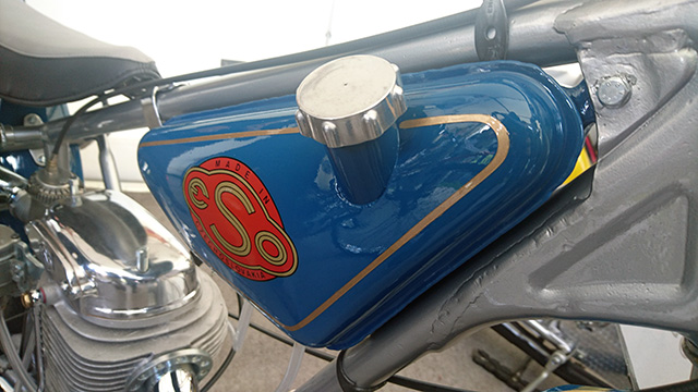 Vintage Speedway Bike Fuel Tank