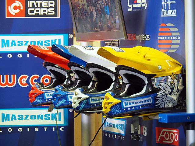 Bartosz Zmarzlik's Helmets