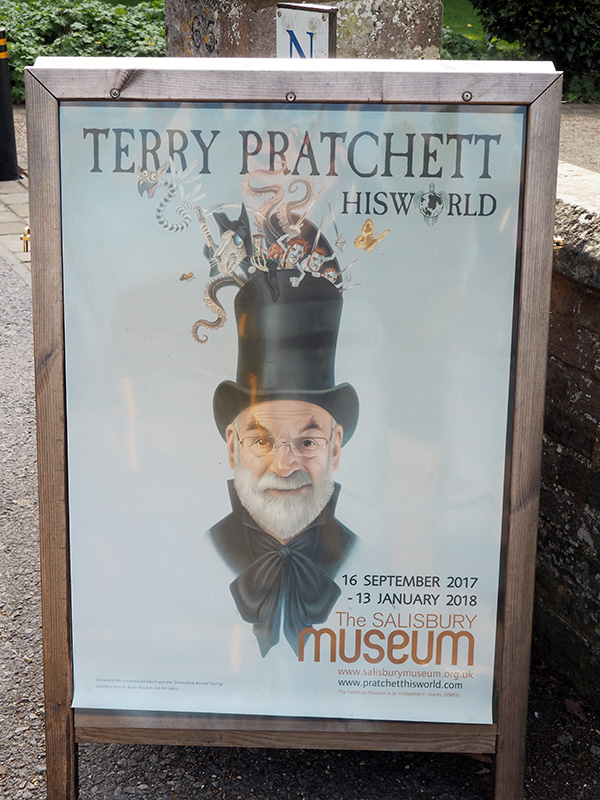 Terry Pratchett: HisWorld Poster