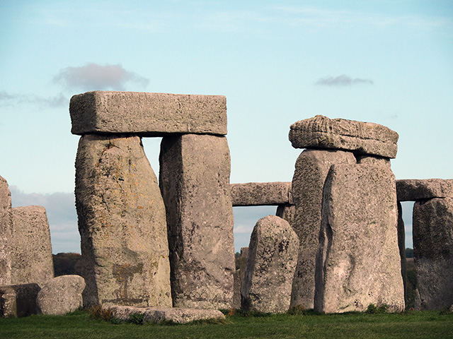 Stonehenge close-up