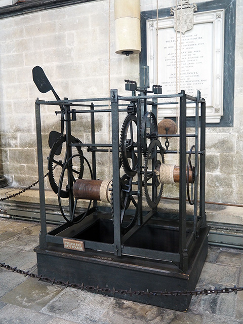 Possibly the oldest working clock in existence.