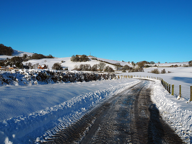 Snow in Mid Wales