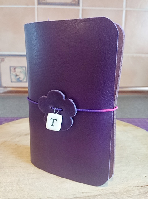 The traveller's notebook I made for my niece.