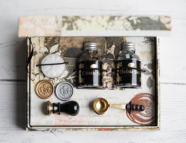 Calligraphy Wax Bead Set