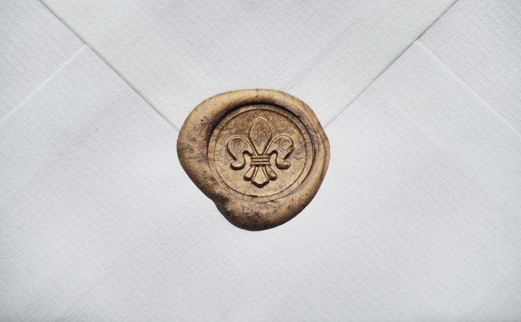 Gold Wax Seal