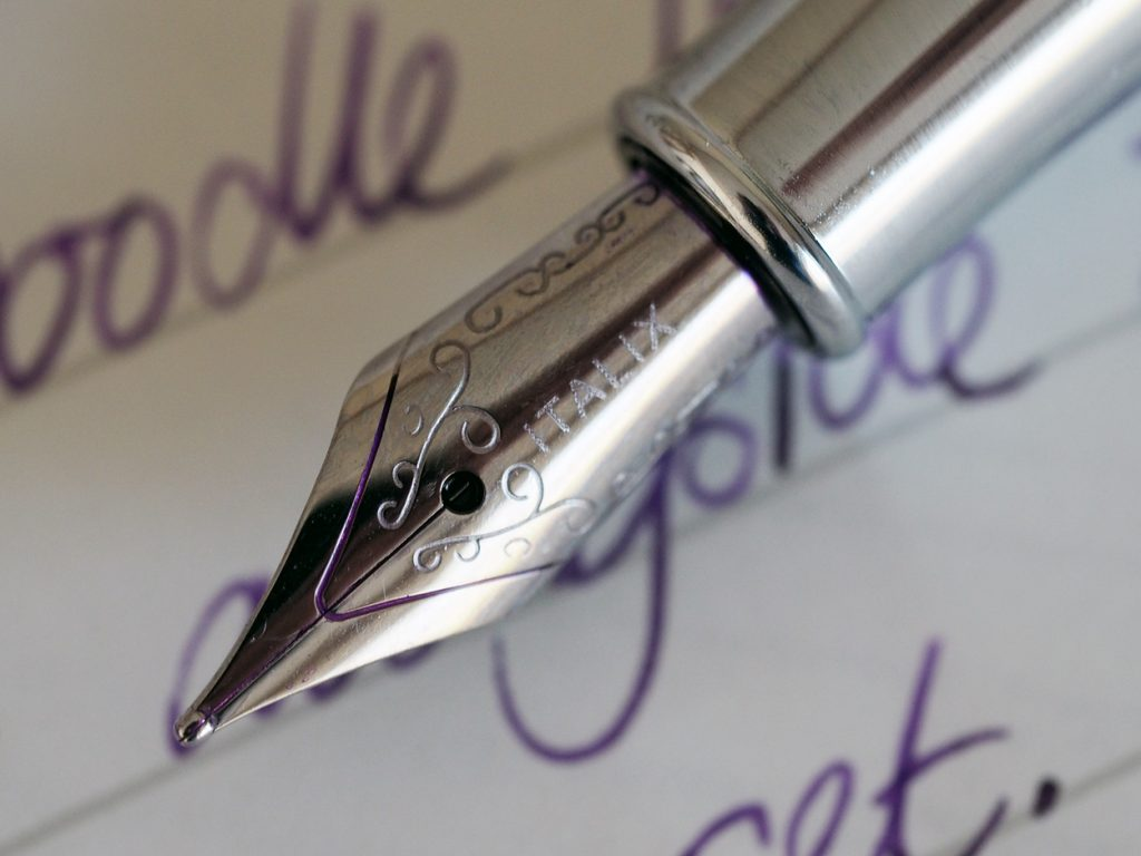 Italix Deacon's Doodle Fountain Pen Nib.