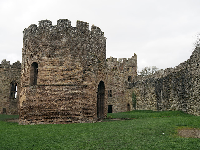 The Norman Chapel at Ludlow Castle.