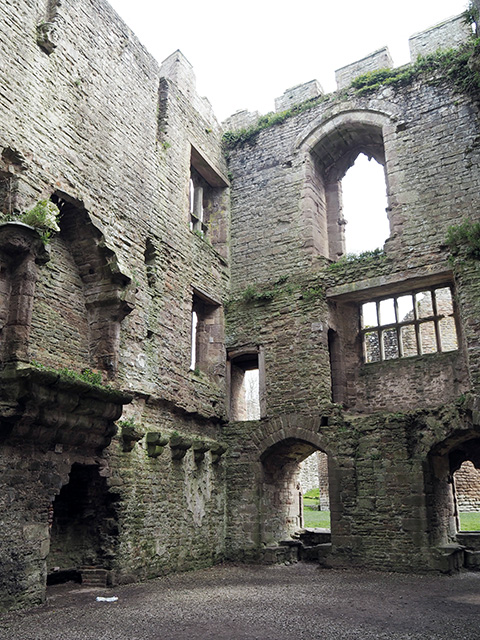 The State Apartments at Ludlow Castle.