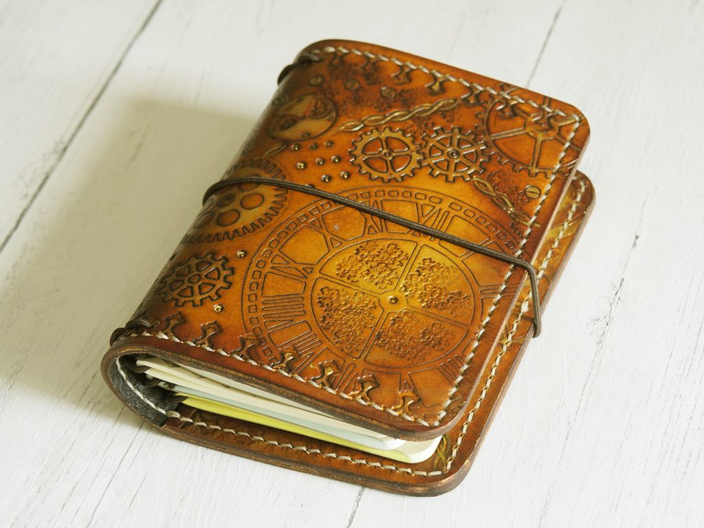 Elrohir Leather Steampunk Traveller's Notebook