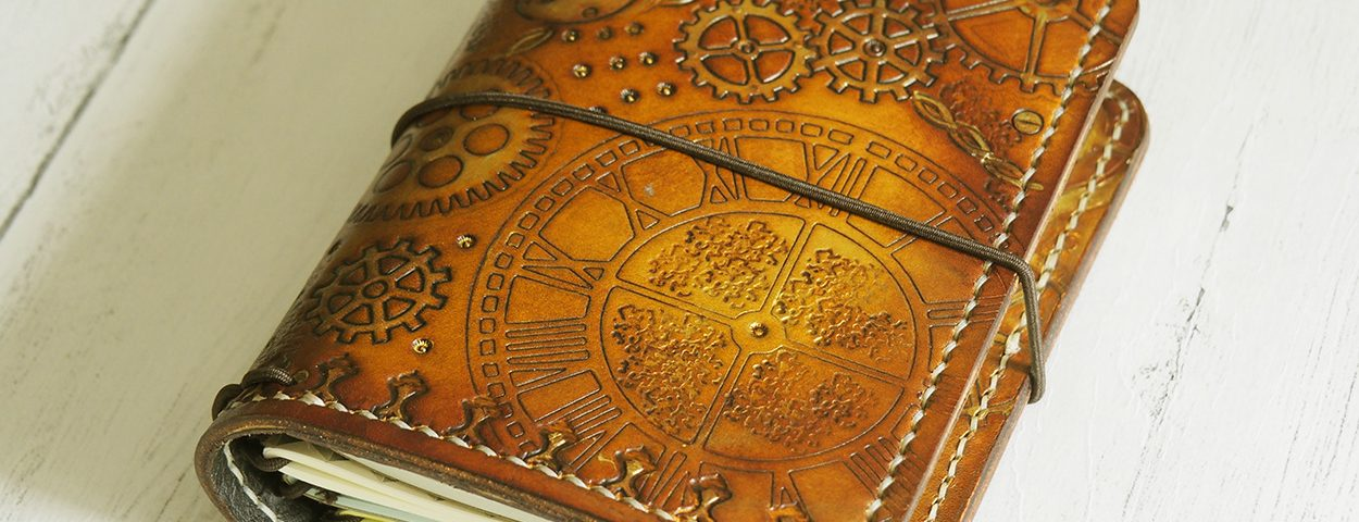 Stationery Sunday: Elrohir Leather Steampunk Traveller's Notebook