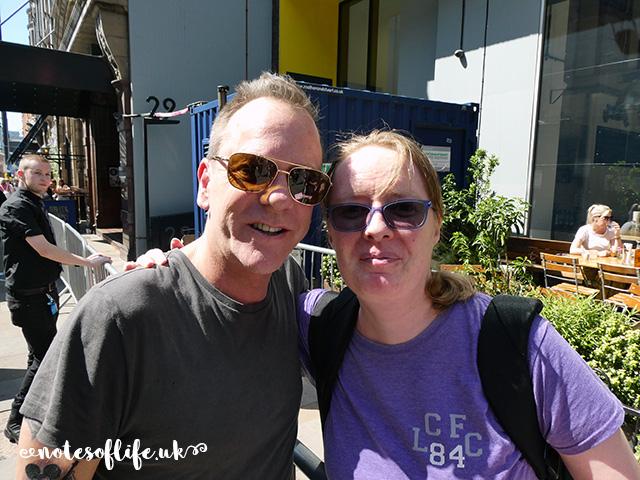I met Kiefer Sutherland!