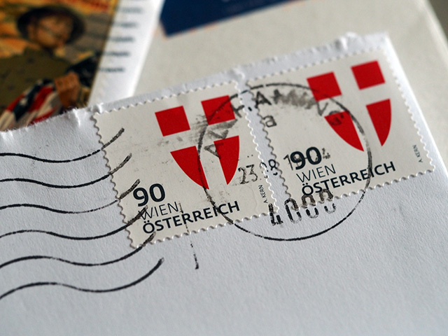 A letter from Austria.