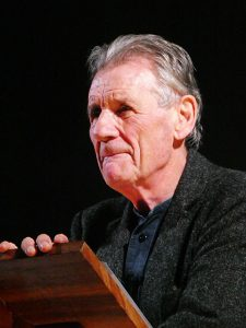Michael Palin in Oswestry.