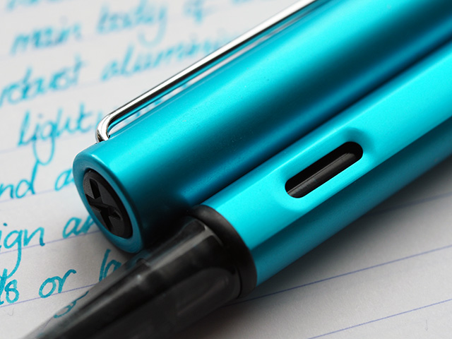 The viewing window on the Lamy AL-star