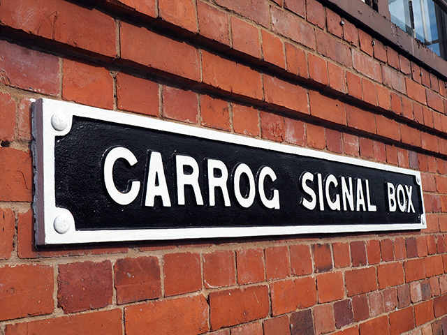 Carrog Signal Box